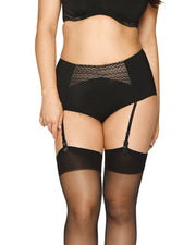 Curvy Kate Deluxe High Waisted Suspender Brief Black