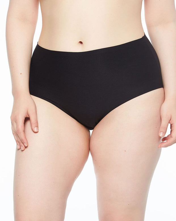 Chantelle Soft Stretch High Waist Brief Black