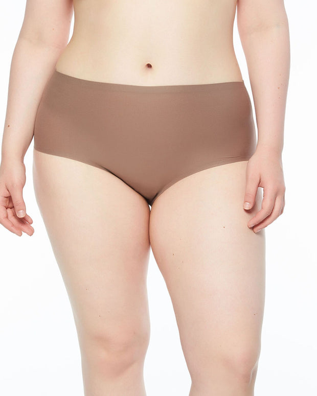 Chantelle Soft Stretch High Waist Brief Cappuccino