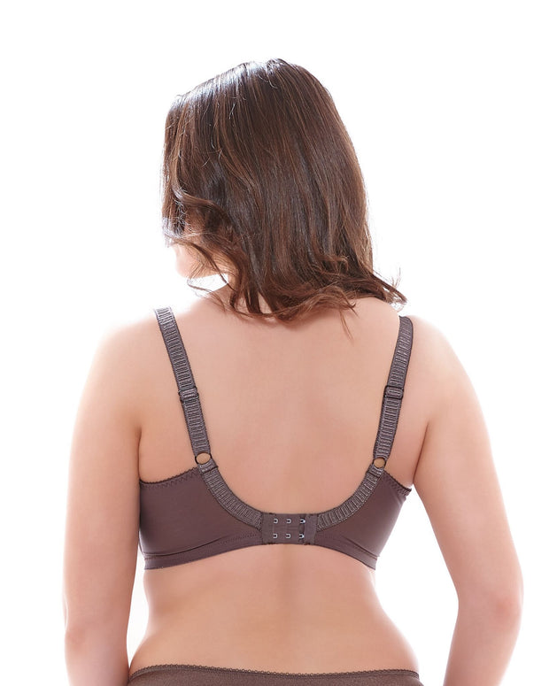 Cate Full Cup Banded Bra: Pecan