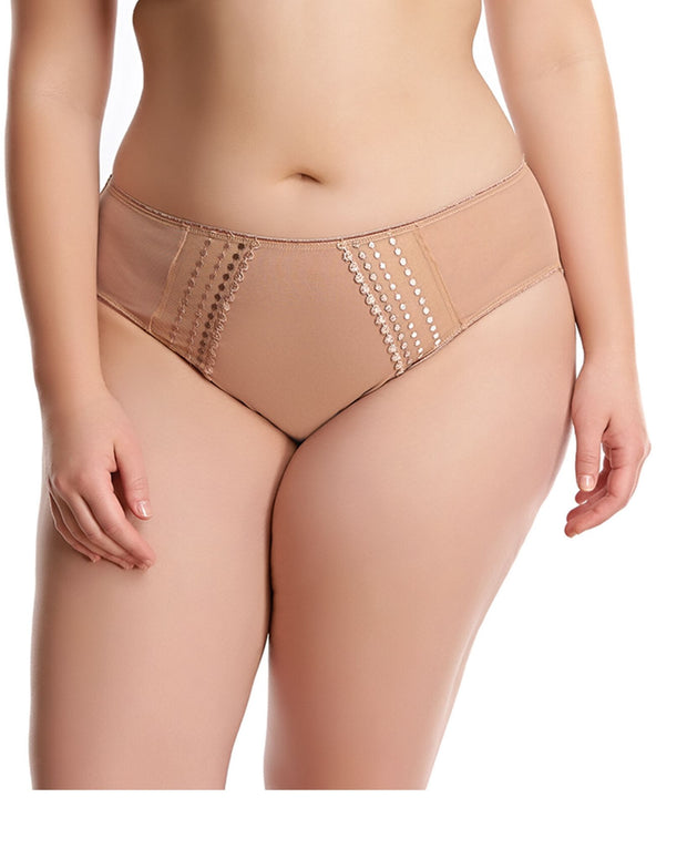 Elomi Matilda Brief Cafe au Lait Nude