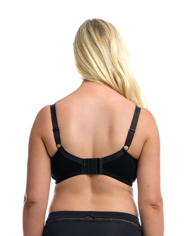 The Essential Nursing Bra: Black