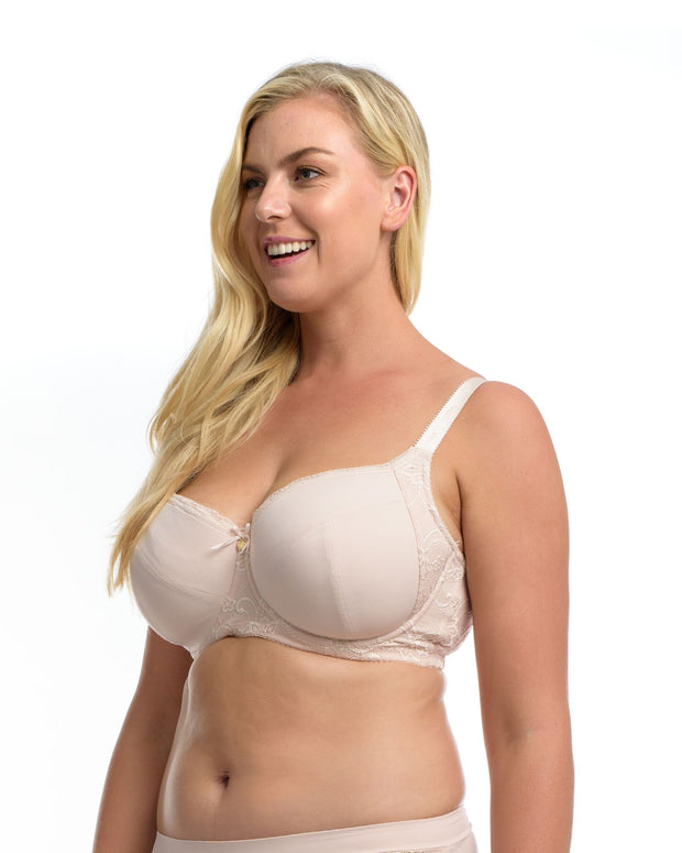 Full Embrace The Essential Balconette Bra Delicate Blush