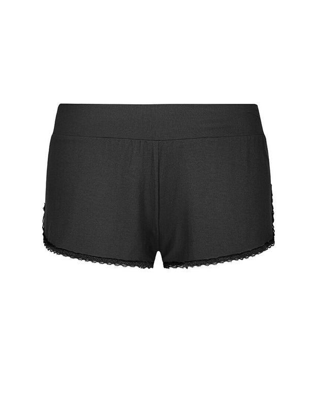 My Cup Runneth Over Farrah Sportie Short Black Ink