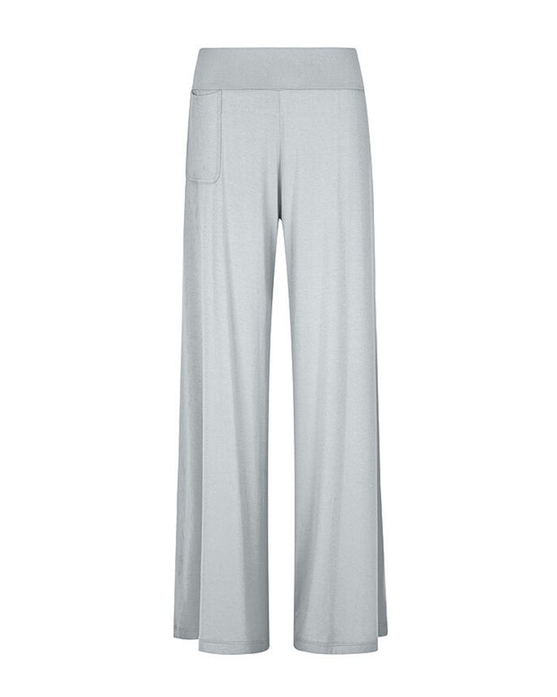 My Cup Runneth Over Chill Out Wide Leg Pant Smoke Grey