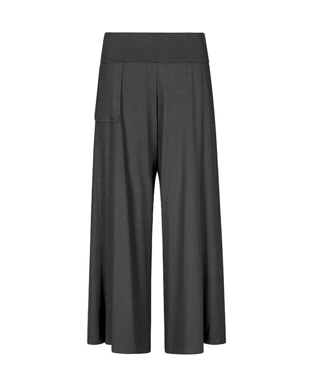 My Cup Runneth Over Chill Out Culottes Black Ink
