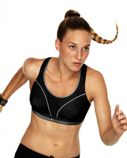 Shock Absorber Ultimate Run Bra Black