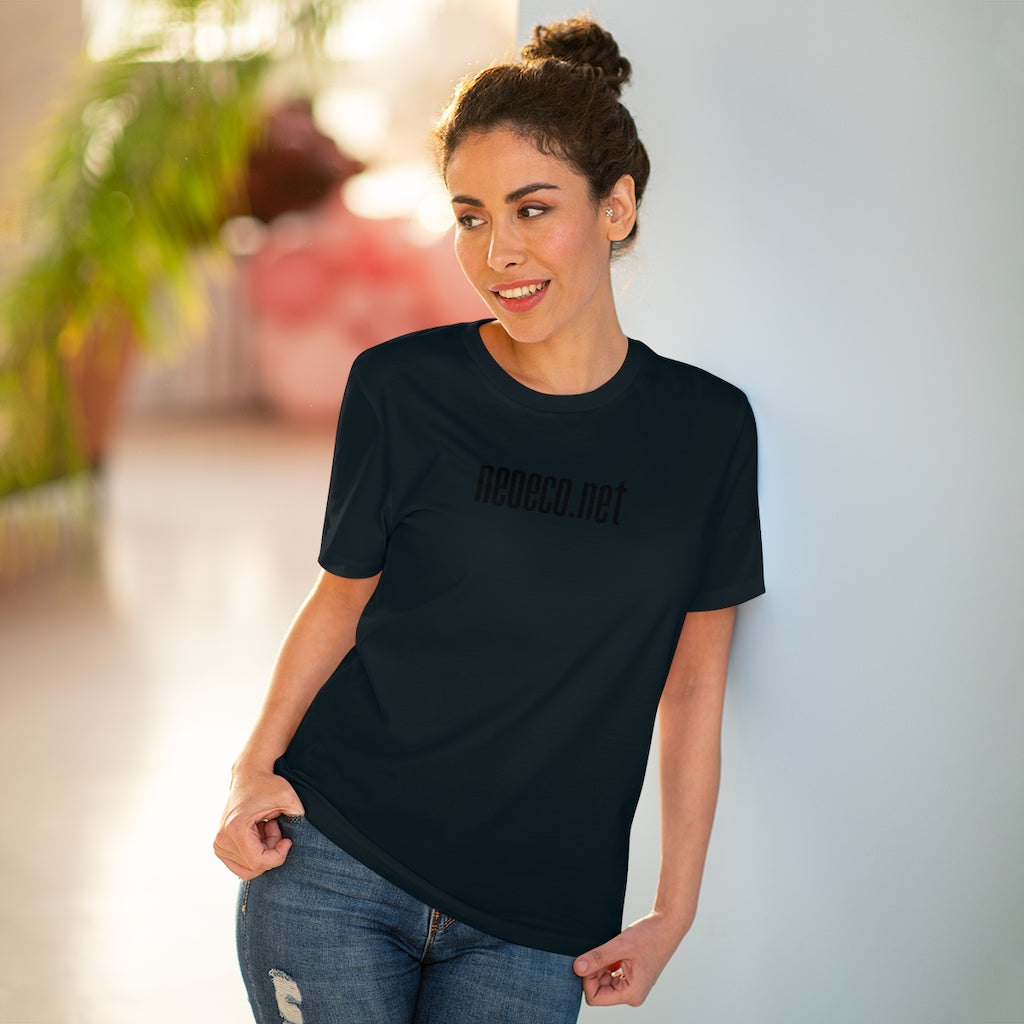 neo eco all black T-shirt - Unisex