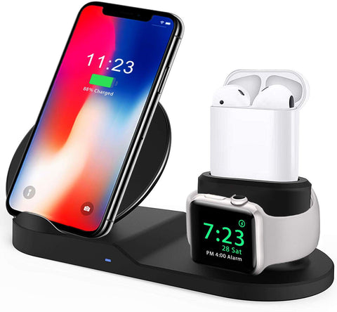 3EN1 DOCK DE CHARGEMENT IPHONE/AIRPODS/WATCH