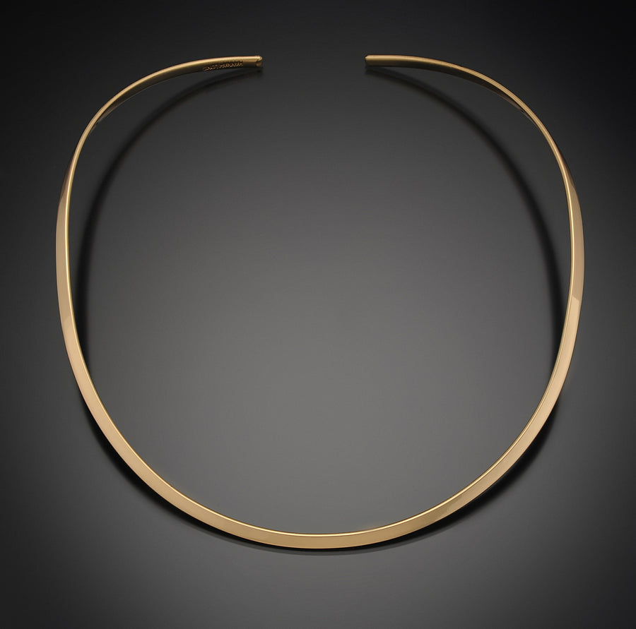 HaLo Gold Thin Round Neckwire