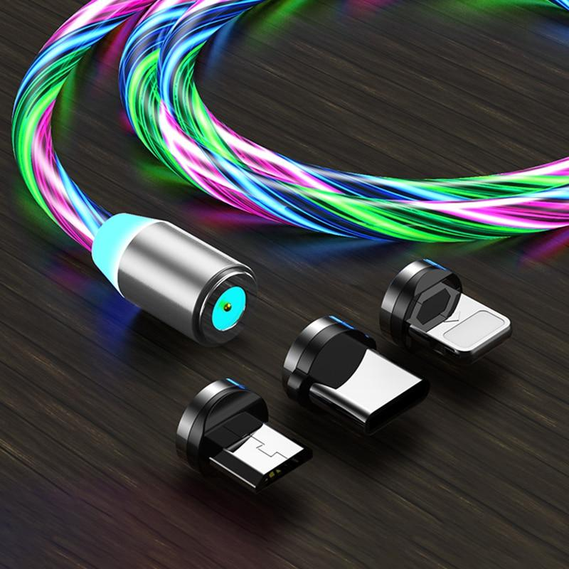 TrekTech™ Glowing LED Magnetic USB Charging Cable - TrekTech