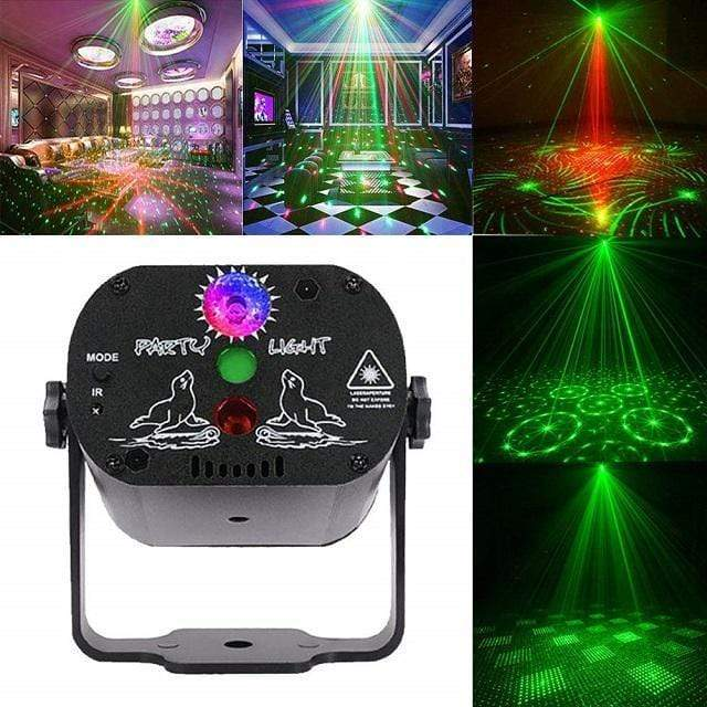 TrekTech™ RGB Laser LED Projector Party Lights - TrekTech