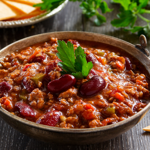 Prime Beef Chili Recipe (with a twist)
