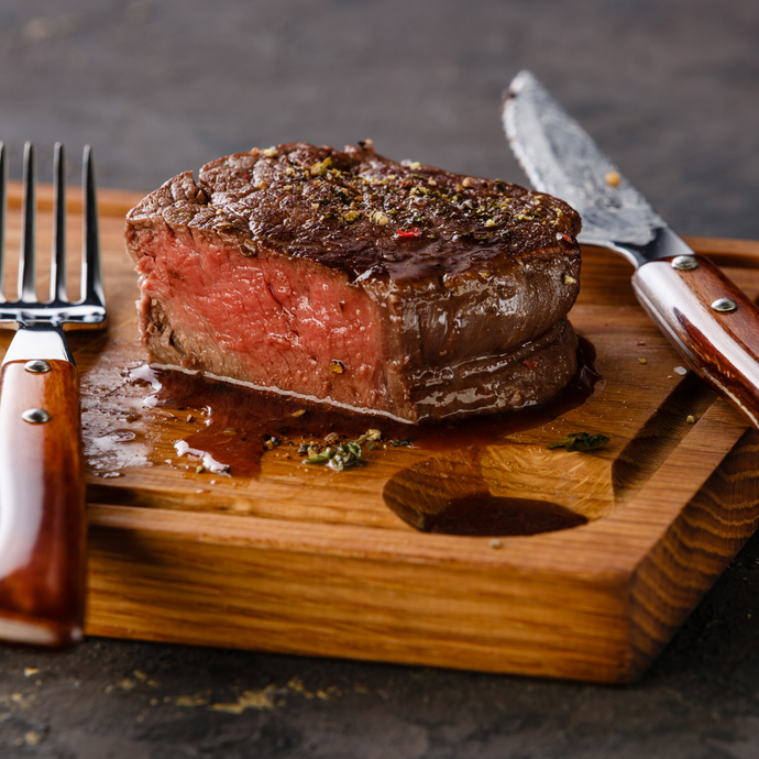 Grilled Filet Mignon with Herb Butter Recipe