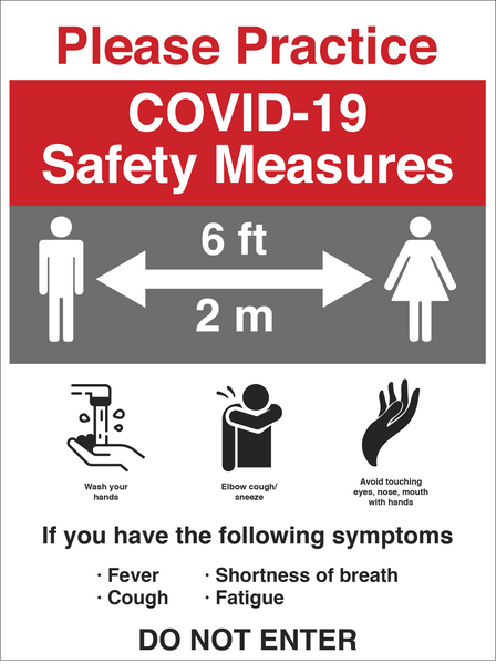 vinyl Covid-19 Coronavirus Social Distancing Physical Distancing Graphic Graphics Sign signs Film Safety Measures Saftey Proceedures Awareness Window Wall