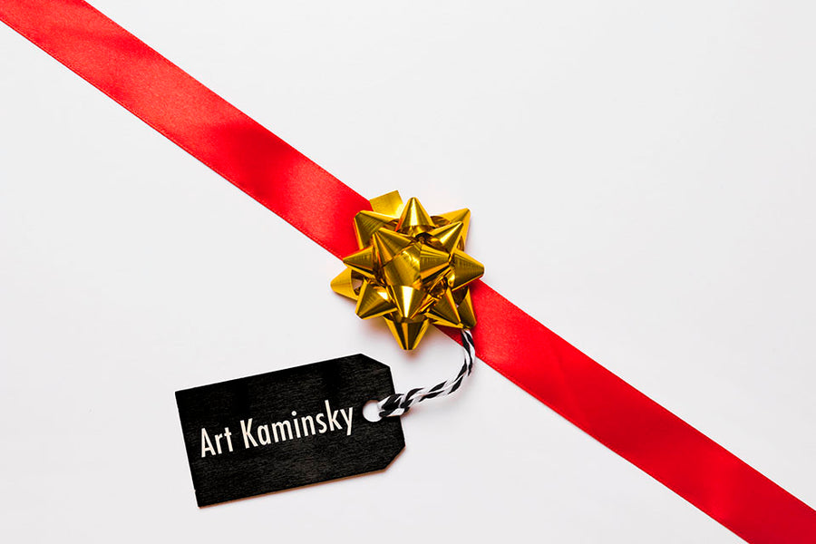 Gift Card Art Kaminsky