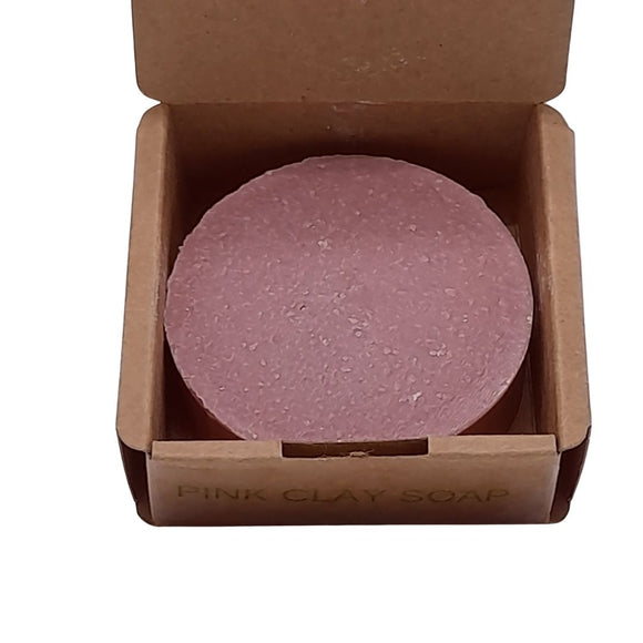 handmade soap ireland pink clay