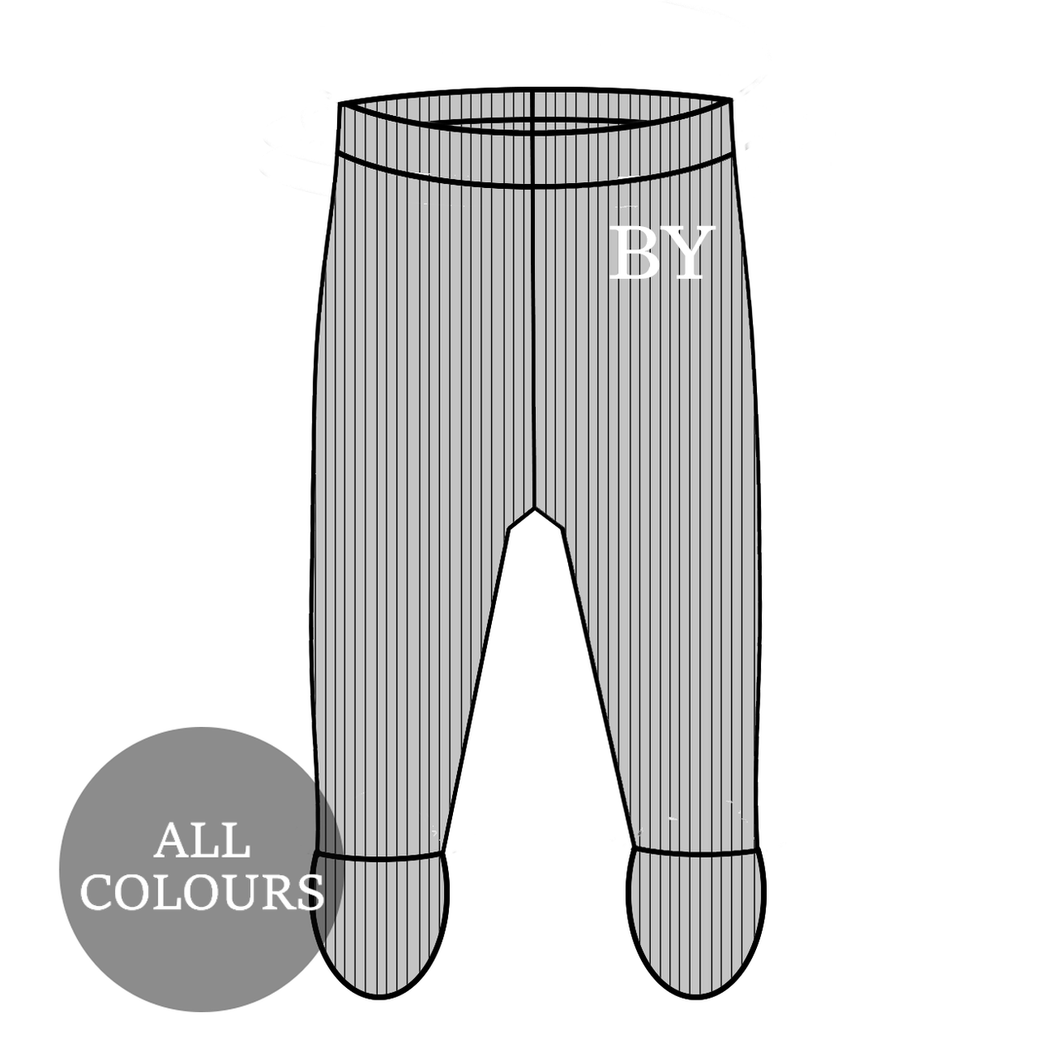CYO Ribbed Lounge Footie Leggings