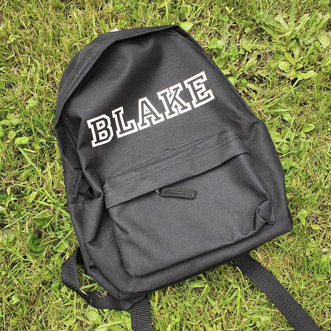 All Star Personalised Mini Fashion Backpack