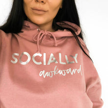 Load image into Gallery viewer, Socially Awkward Unisex Adults Hoodie