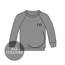 Load image into Gallery viewer, CYO Maternity Standard Lounge Long Sleeve T-Shirt