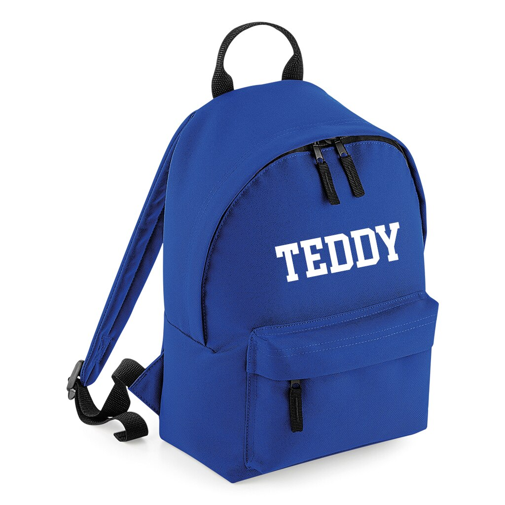 College Personalised Mini Fashion Backpack