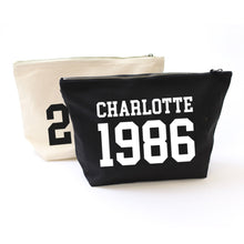 Load image into Gallery viewer, College Year Personalised Accessory Bag