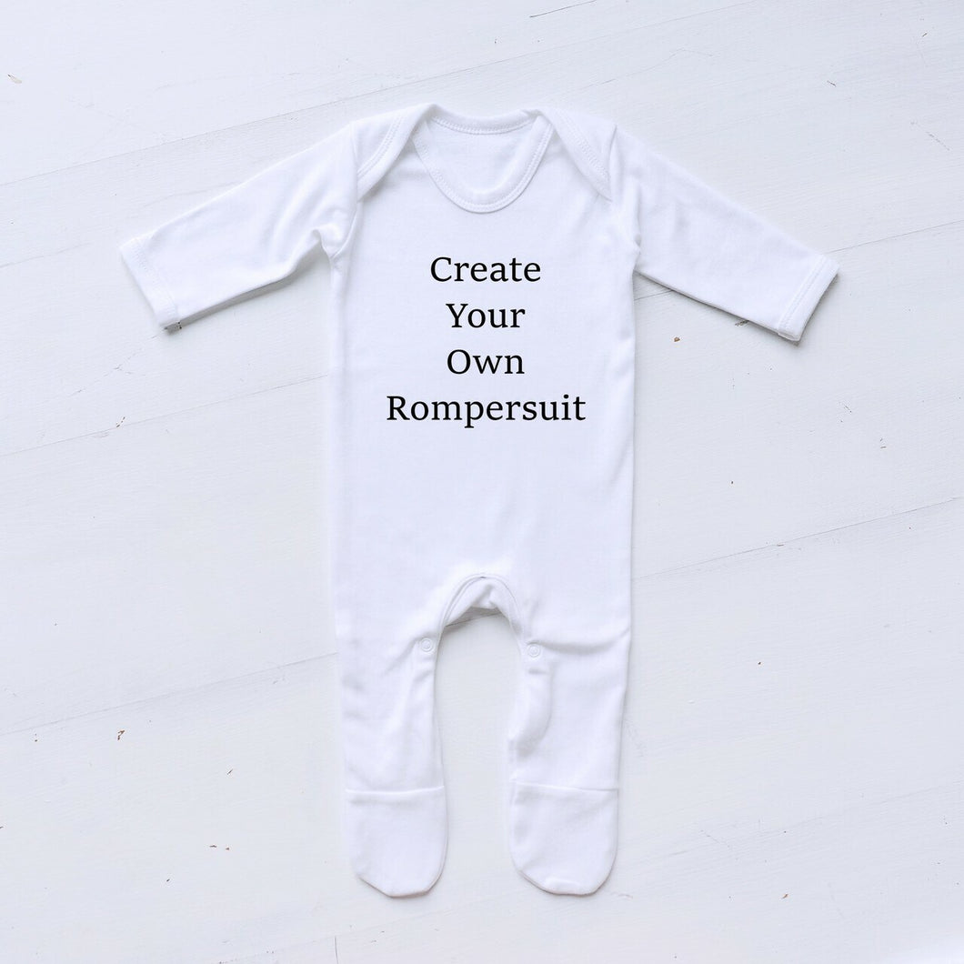 Create Your Own Rompersuit