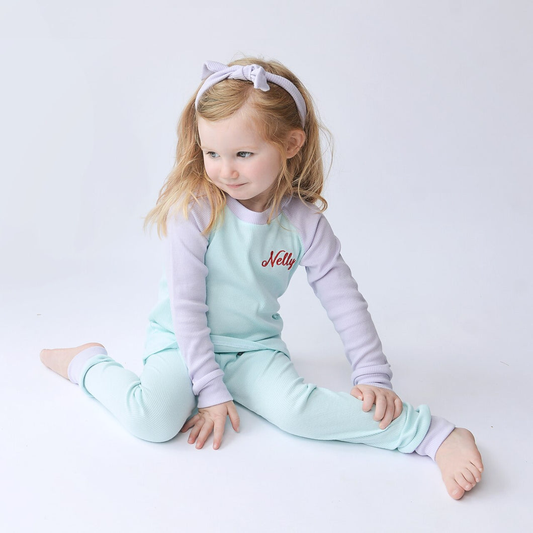Ariel Character Ribbed Lounge Set (Made to Order)