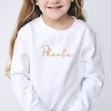 Load image into Gallery viewer, Blesson Name Embroidered Standard Sweatshirt