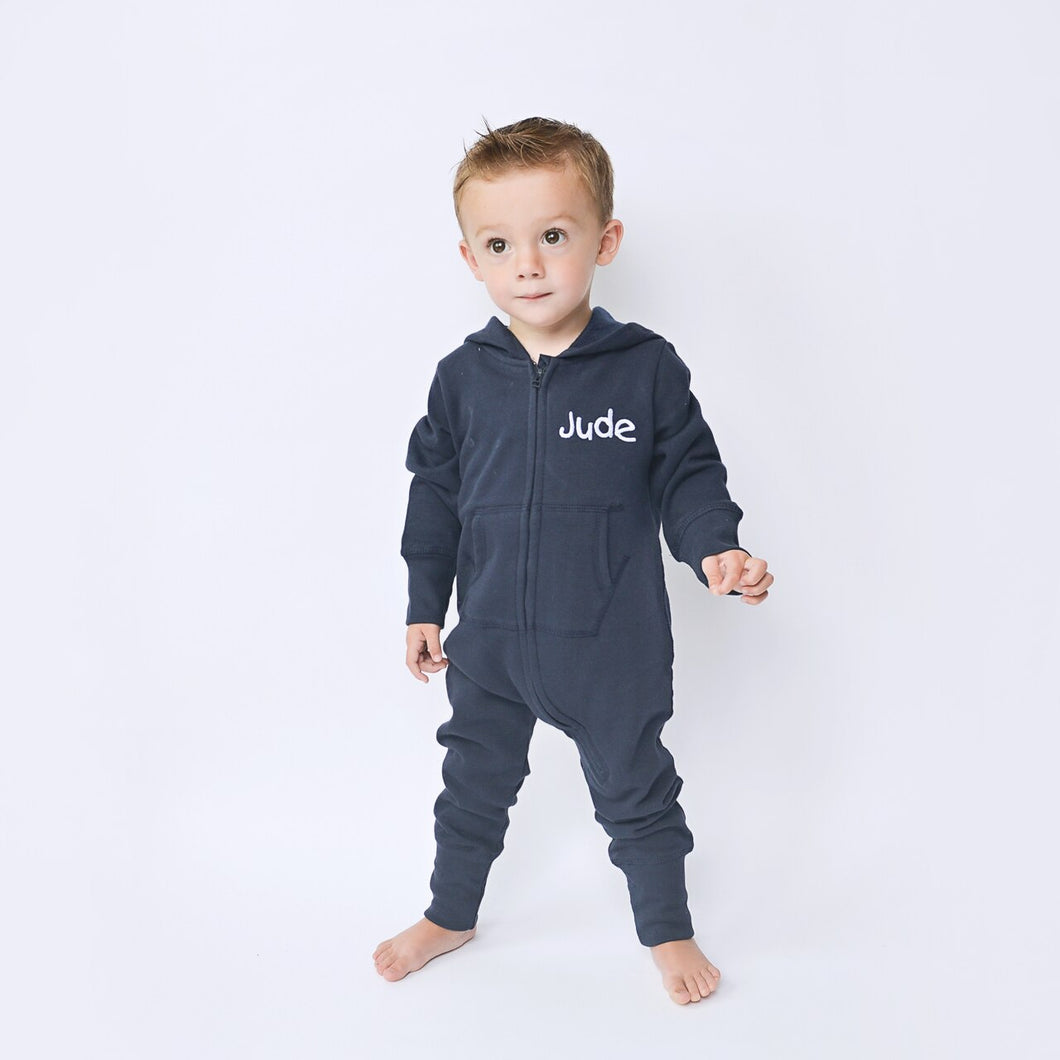 Kids Embroidered Personalised Onesie (Younger Sizes)