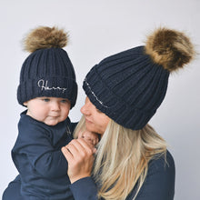 Load image into Gallery viewer, All Colours Adult Faux Fur Pom Pom Hat