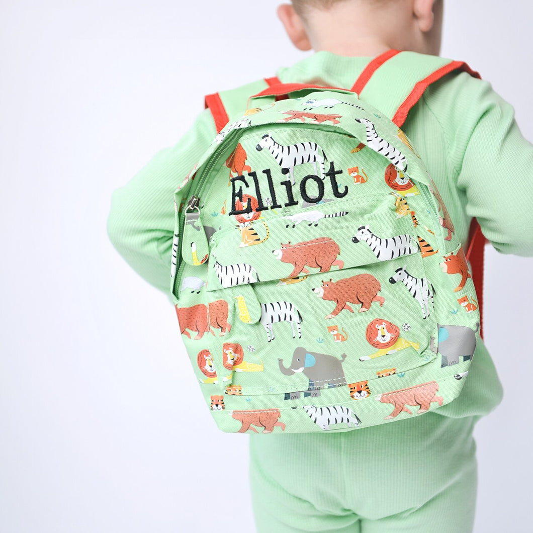 Animal Park Mini Pattern Backpack