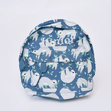 Load image into Gallery viewer, Sloth Mini Pattern Backpack