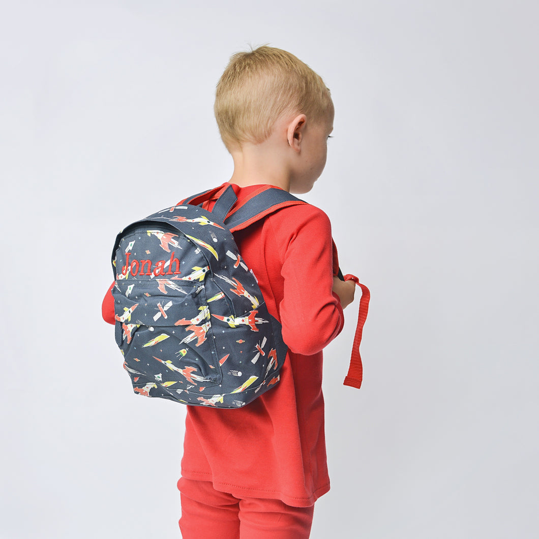 Space Age Mini Pattern Backpack
