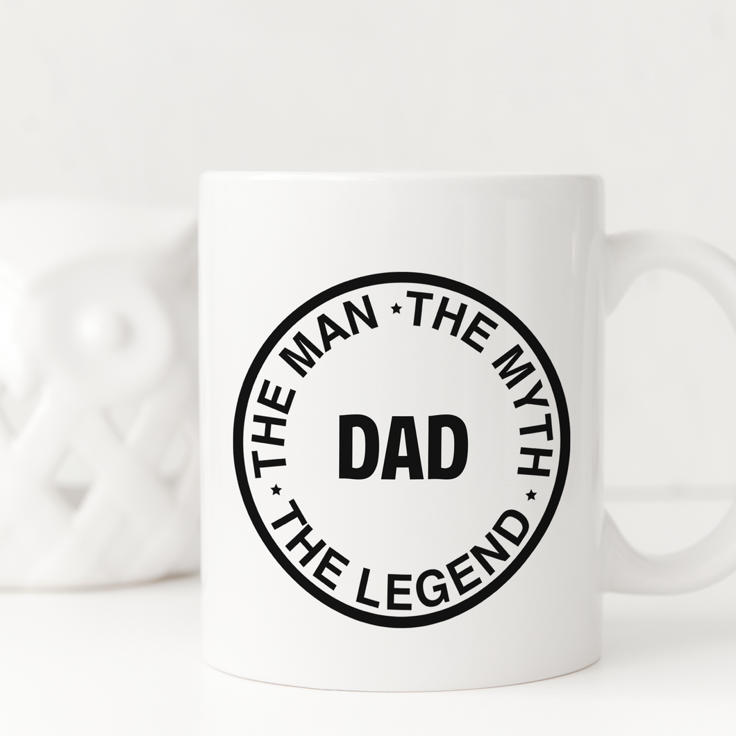 Dad Man Myth Legend Mug