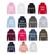 Load image into Gallery viewer, Crown Birthday Number Name Personalised Hoodie