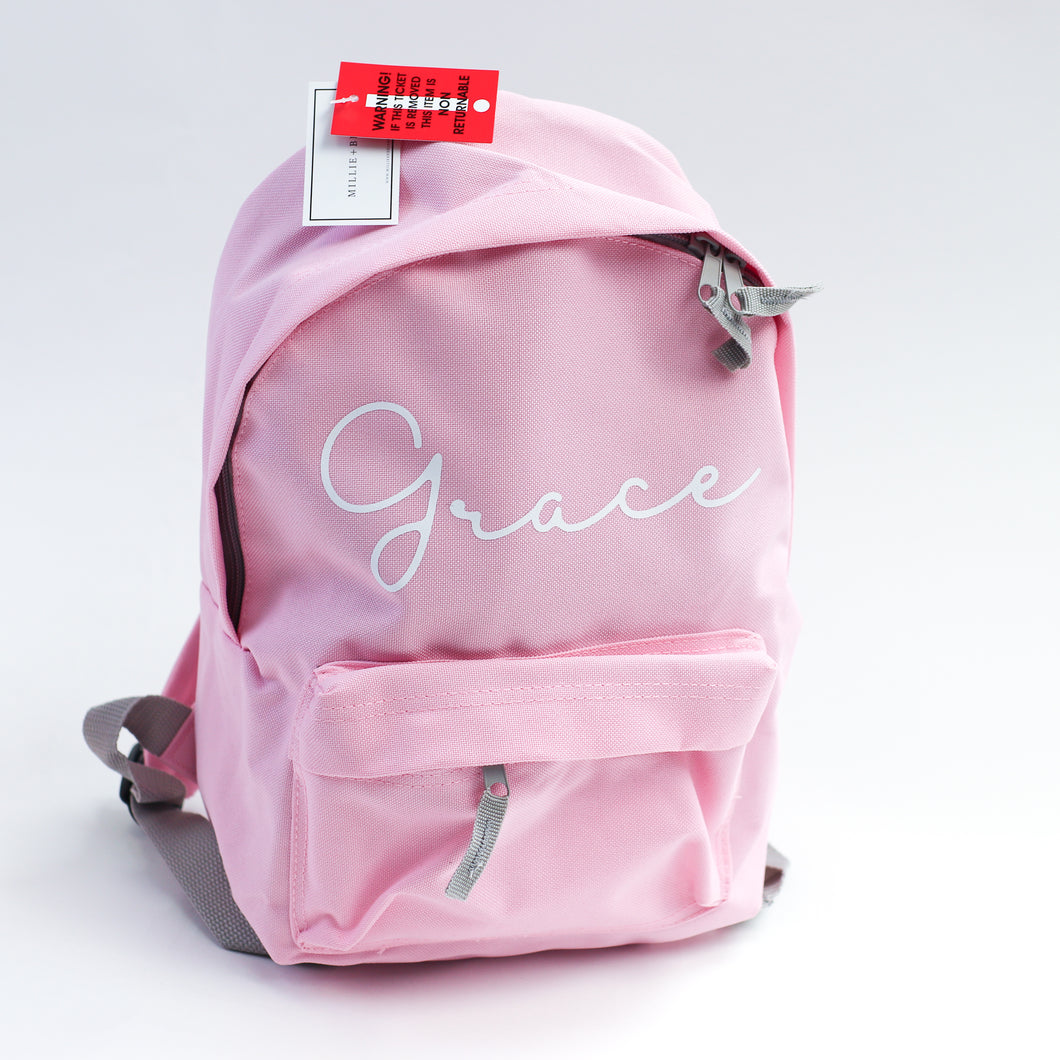 Blesson Personalised Mini Fashion Backpack