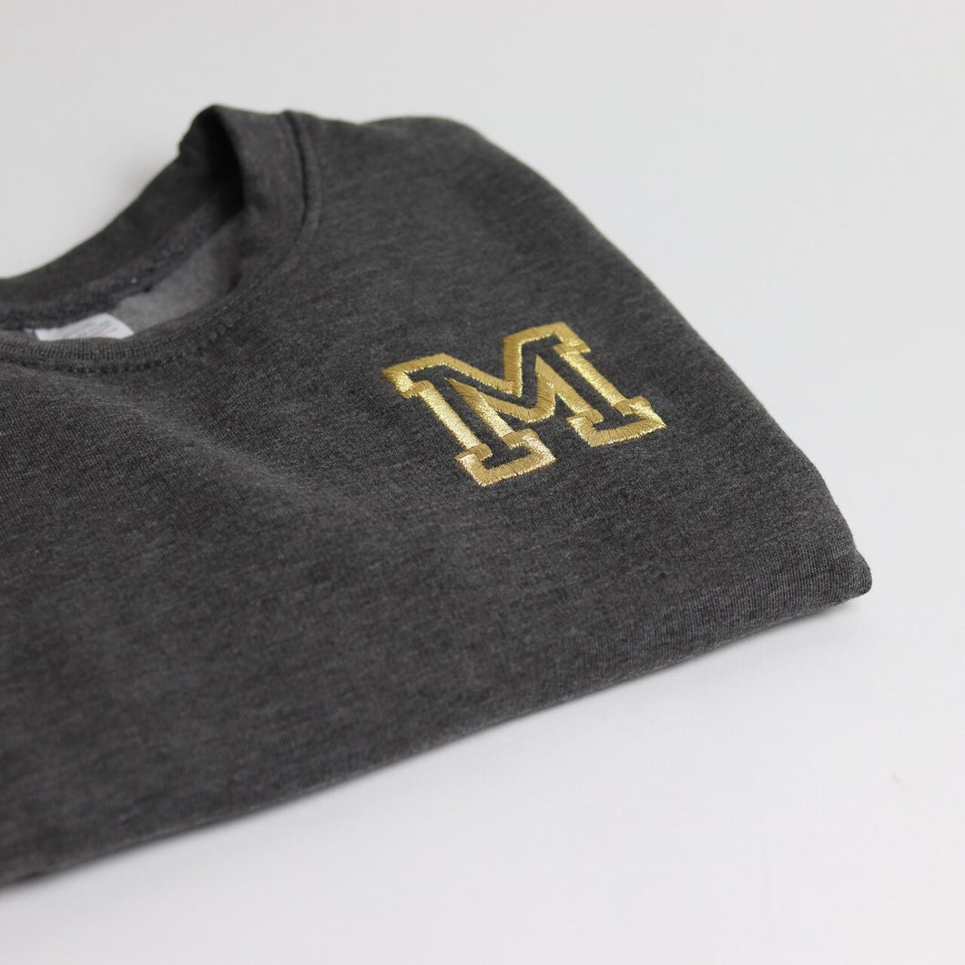 All Star Initial Embroidered Standard Sweatshirt