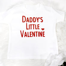 Load image into Gallery viewer, Daddy's Little Valentine FF T-Shirt