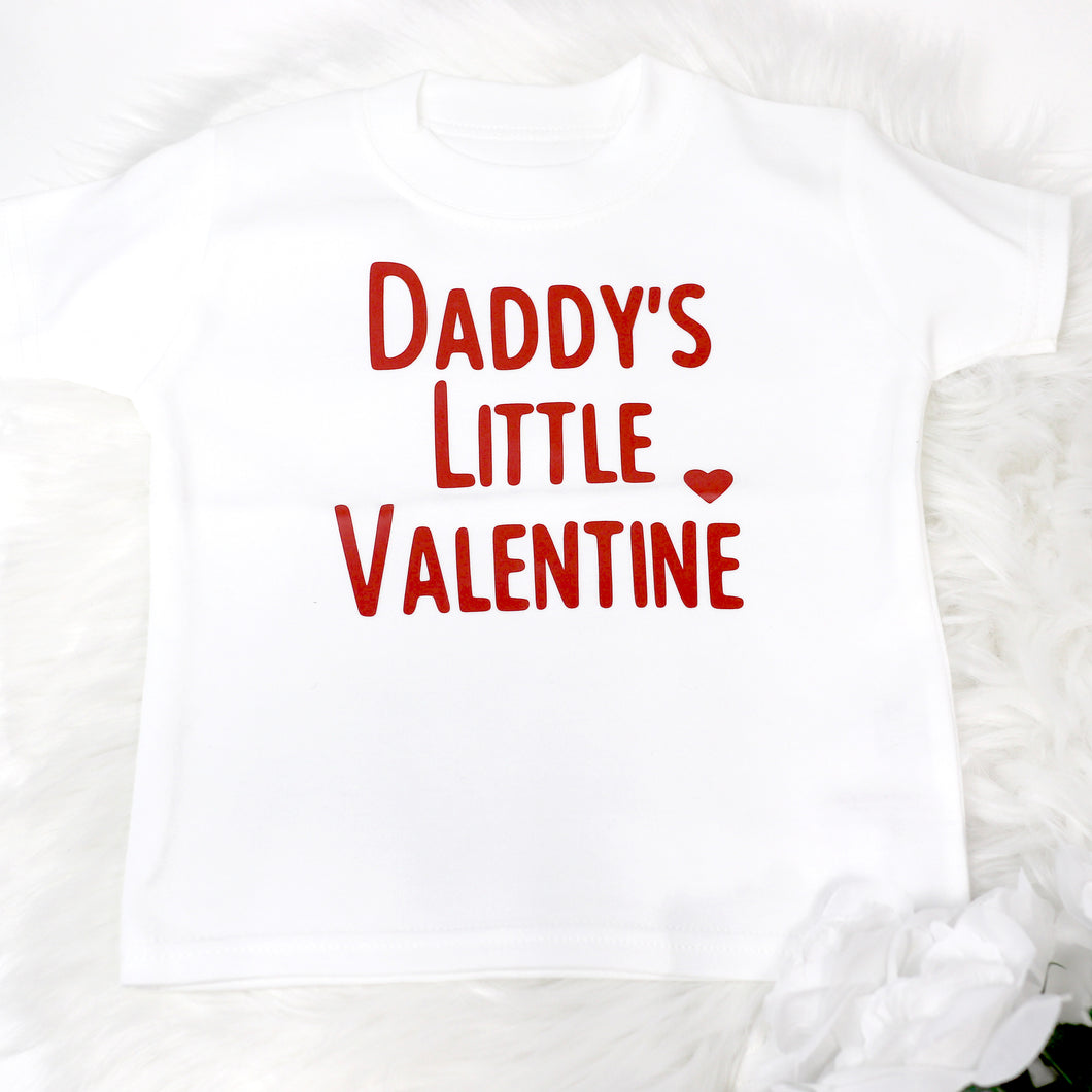 Daddy's Little Valentine FF T-Shirt
