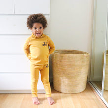 Load image into Gallery viewer, Mustard Roll Neck Lounge Set - EXPRESS