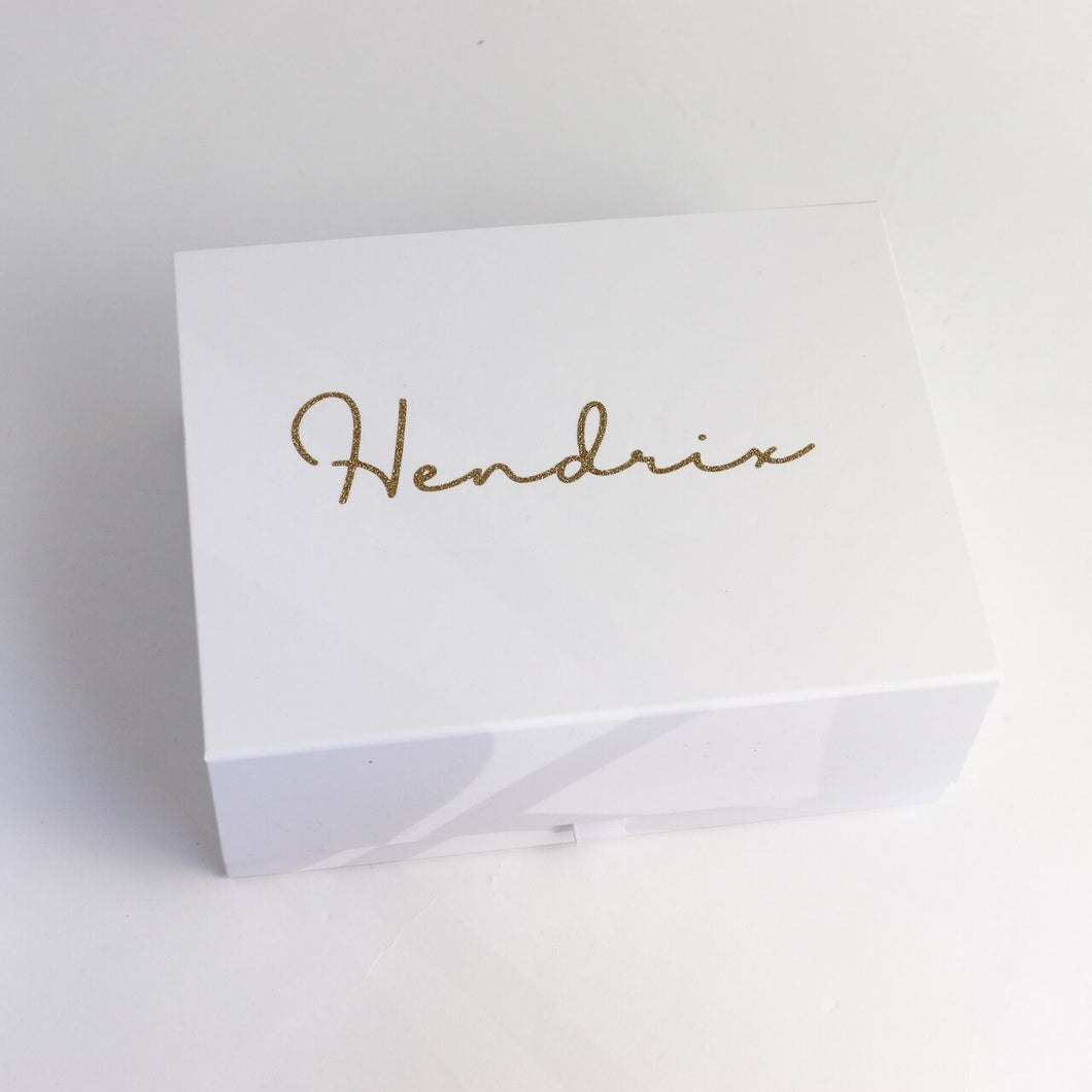 Deep Magnetic White Gift Box