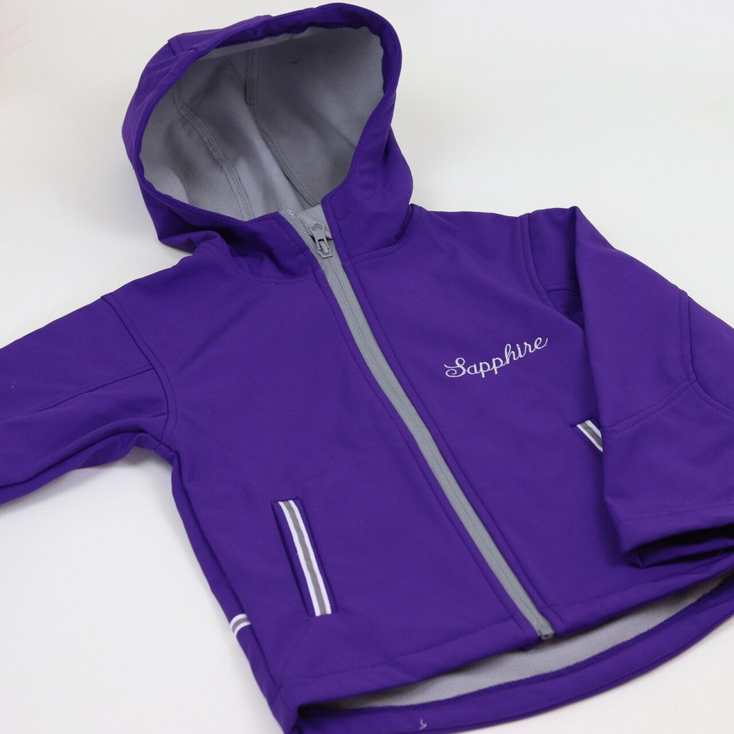 Older Embroidered Personalised Raincoat