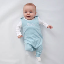 Load image into Gallery viewer, Duck Egg Lounge Romper (Made to order)