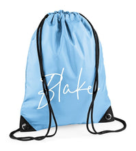Load image into Gallery viewer, Tiffany Name Personalised Gymsac