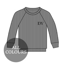 Load image into Gallery viewer, CYO Men's Ribbed Lounge Long Sleeve T-Shirt