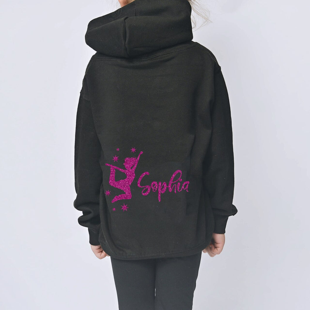 Street Dance Personalised Zip-Up Hoodie