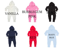 Load image into Gallery viewer, Kids Embroidered Personalised Onesie (Younger Sizes)