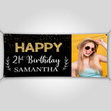 21st birthday banner